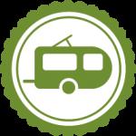 Wohnwagen-Icon