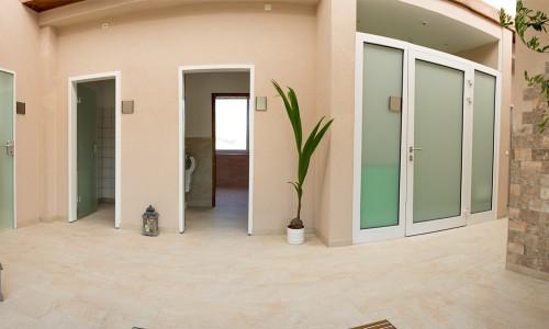 Eingangsbereich des neuen Waschhaus