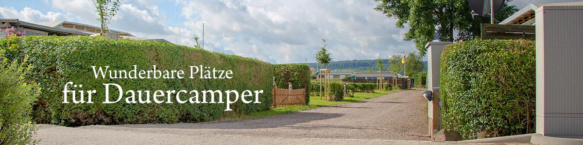 Schöne und günstige Plätze für Dauercamper an der Weser in Emmerthal Hameln Grohnde