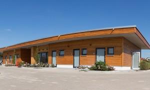Neues Waschhaus Campingplatz Grohnde an der Weser