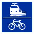 Bahn und Fahrradanbindung Grohnder Fährhaus